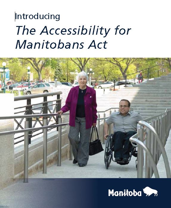 Introducing the Accessibility for Manitobans Act Brochure